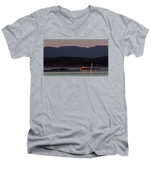 Isolated Lighthouse Men's V-Neck T-Shirt