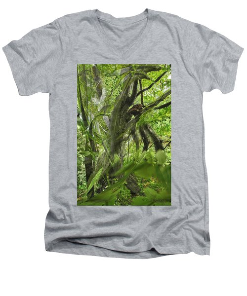 It Was A Windy Day.... Men's V-Neck T-Shirt