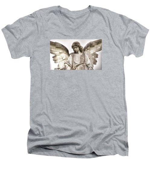 Il Piu Sereno Men's V-Neck T-Shirt