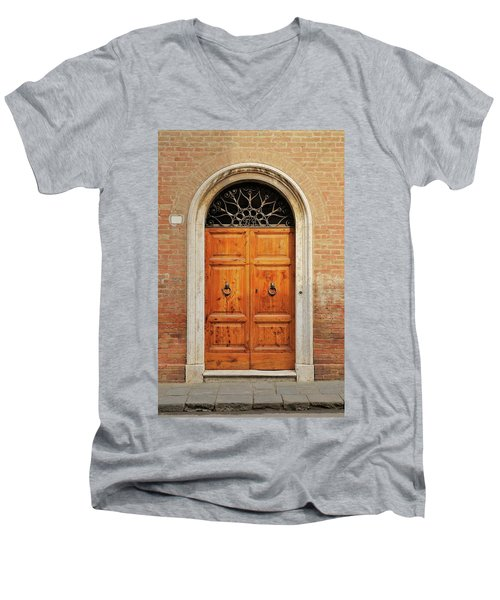 Italy - Door Fifteen Men's V-Neck T-Shirt
