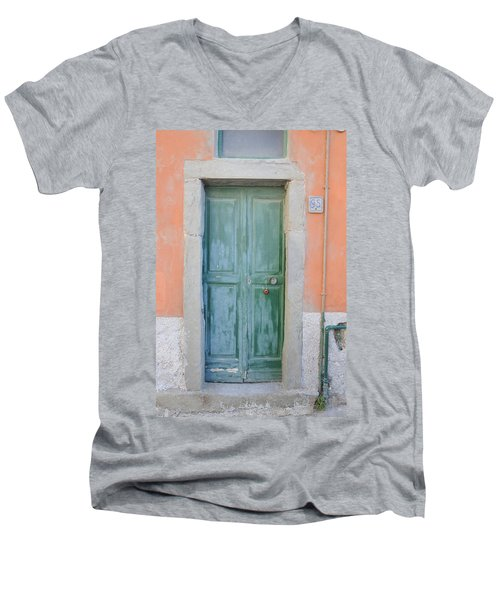 Italy - Door Five Men's V-Neck T-Shirt