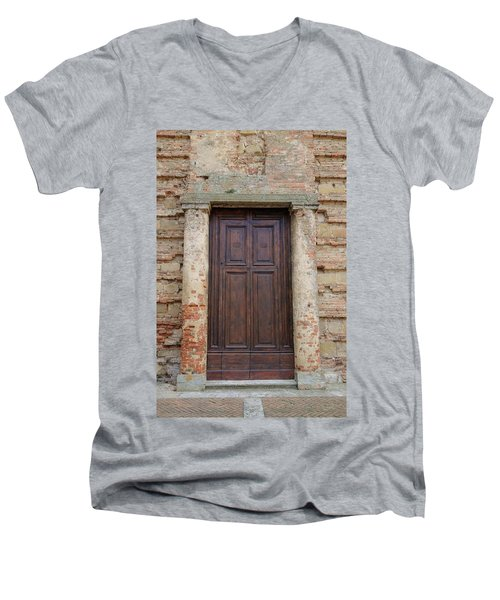 Italy - Door Nineteen Men's V-Neck T-Shirt