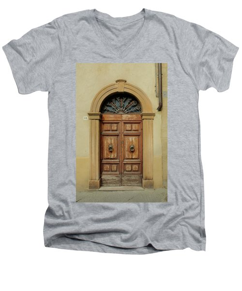 Italy - Door One Men's V-Neck T-Shirt
