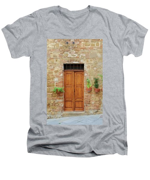 Italy - Door Six Men's V-Neck T-Shirt