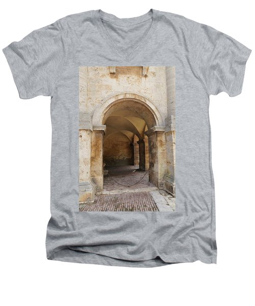 Italy - Door Sixteen Men's V-Neck T-Shirt