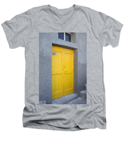 Italy - Door Three Men's V-Neck T-Shirt