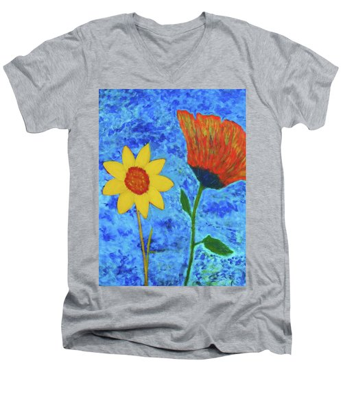 It's O.k. To Be Different Men's V-Neck T-Shirt