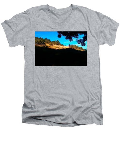 It's Smileland It's My Land Men's V-Neck T-Shirt