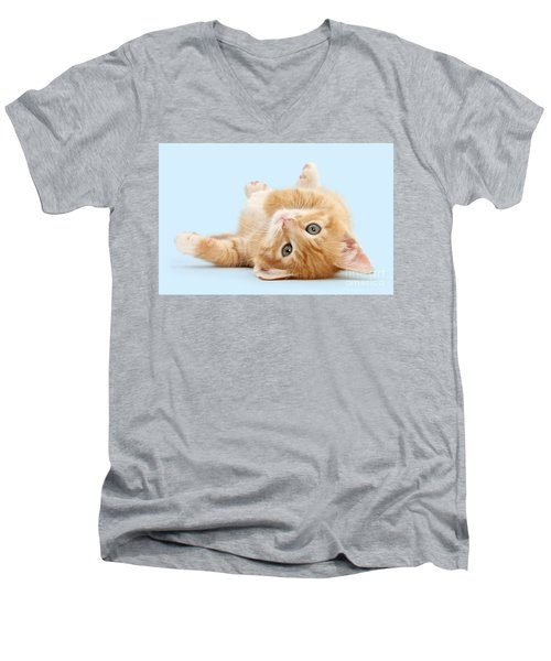 It's Sunday, I'm Feeling Lazy Men's V-Neck T-Shirt