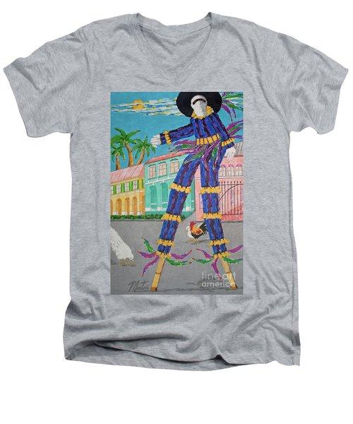 J Ouvert Morning  Men's V-Neck T-Shirt