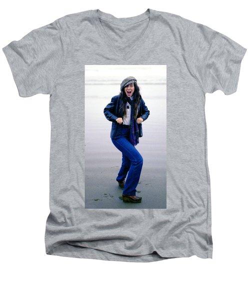 J. R. Men's V-Neck T-Shirt
