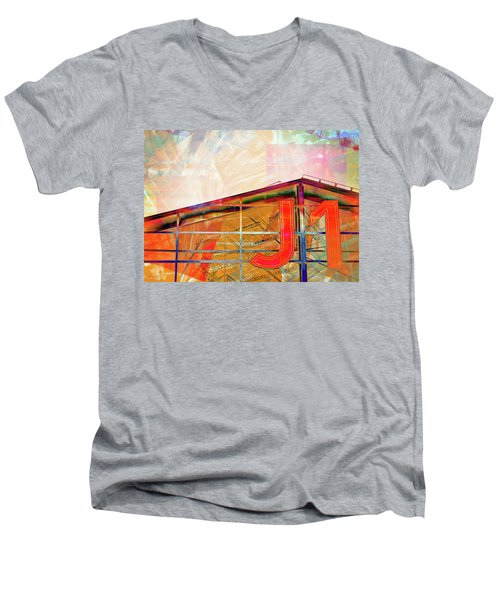 J1 Marseille, Hangar Men's V-Neck T-Shirt