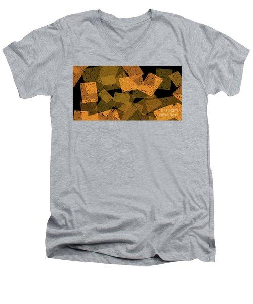 Jabberblocky Men's V-Neck T-Shirt