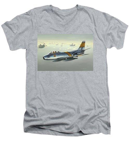 Jabby Jabara Men's V-Neck T-Shirt