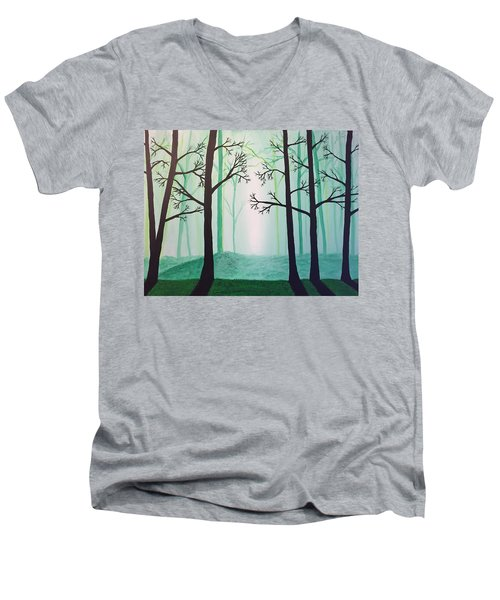 Jaded Forest Men's V-Neck T-Shirt