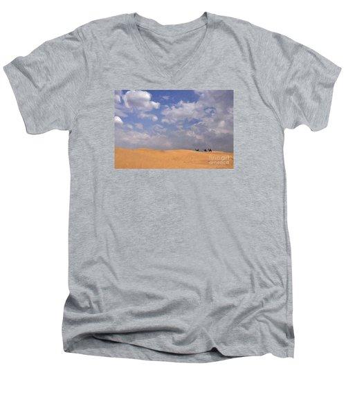 Jaisalmer Desert Festival-1 Men's V-Neck T-Shirt