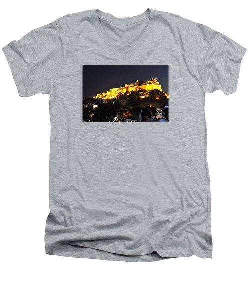 Jaisalmer Desert Festival-3 Men's V-Neck T-Shirt