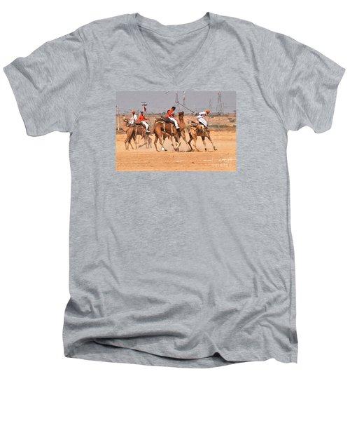 Jaisalmer Desert Festival-7 Men's V-Neck T-Shirt