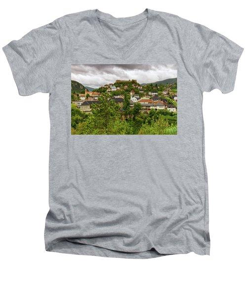 Jajce, Bosnia And Herzegovina Men's V-Neck T-Shirt