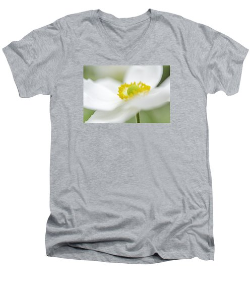 Japanese Anemone Men's V-Neck T-Shirt