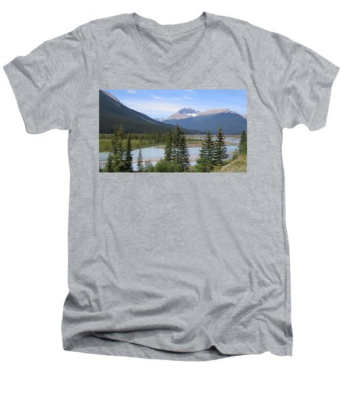 Jasper Alberta Men's V-Neck T-Shirt