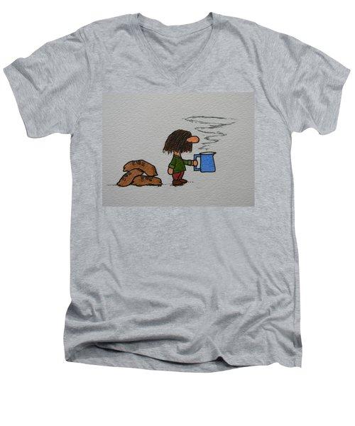 Java Men's V-Neck T-Shirt