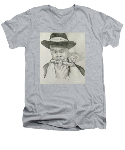 Jay-z Reasonable Doubt 20th Men's V-Neck T-Shirt by Gregory Taylor
