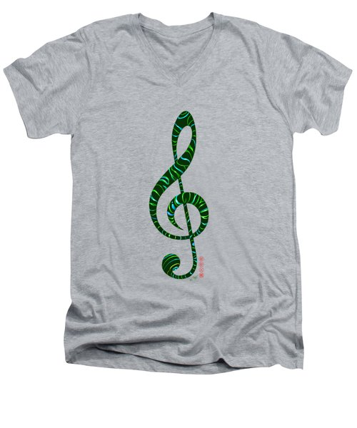 Jazz T Men's V-Neck T-Shirt