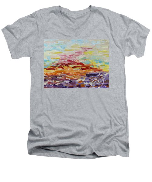 Jazzy Men's V-Neck T-Shirt