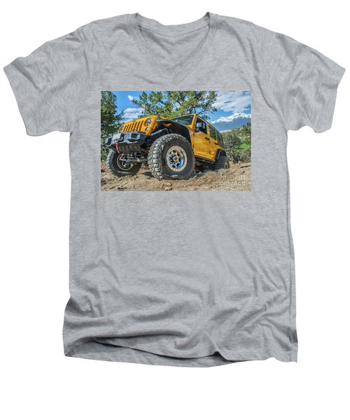 Jeep Life Men's V-Neck T-Shirt