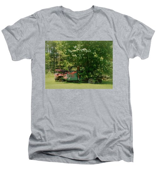 Jeferson Landing Series No.2 Men's V-Neck T-Shirt