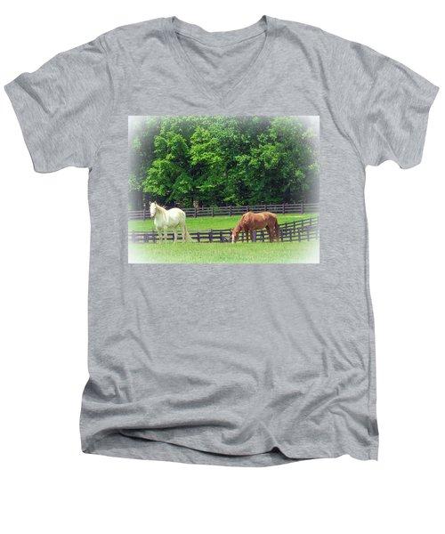 Jefferson Landing Series No. 5 Men's V-Neck T-Shirt