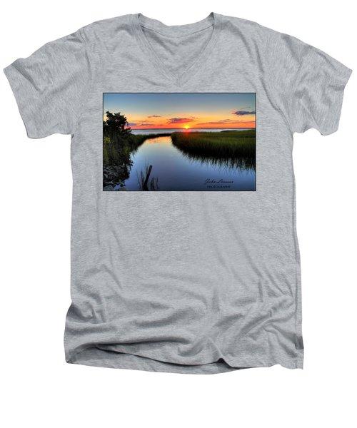 Jeffres Reflections Men's V-Neck T-Shirt