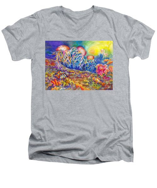 Jellies Men's V-Neck T-Shirt