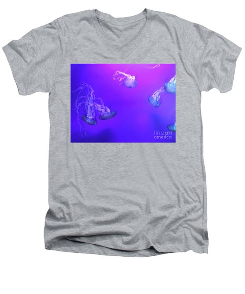 Jellyfish 1 Men's V-Neck T-Shirt