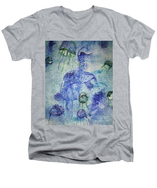 Jellyfish II Men's V-Neck T-Shirt