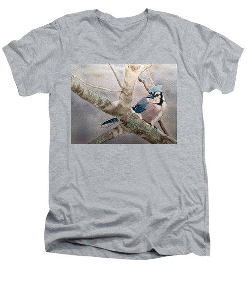 Cold Winter's Jay Men's V-Neck T-Shirt