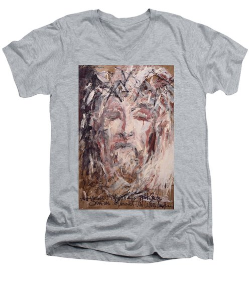 Jesus Christ Men's V-Neck T-Shirt