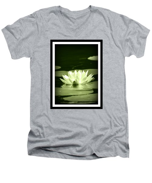 Jewel Of The Pond Men's V-Neck T-Shirt