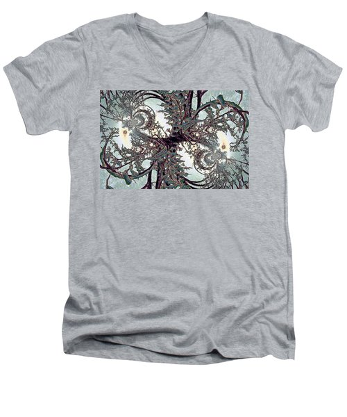 Jewel Tree Men's V-Neck T-Shirt
