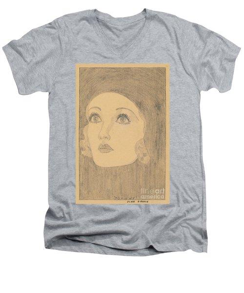 Joanne Bennett  Men's V-Neck T-Shirt