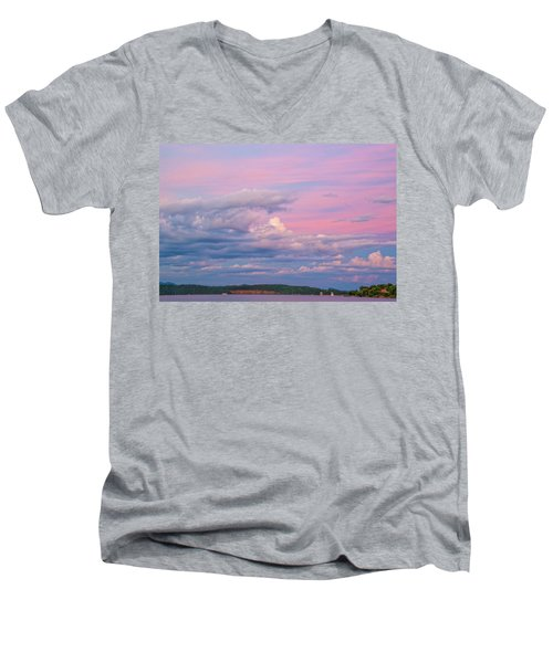 Jocassee 3 Men's V-Neck T-Shirt