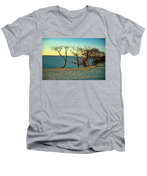 Jockey Ridge Sentinels Men's V-Neck T-Shirt
