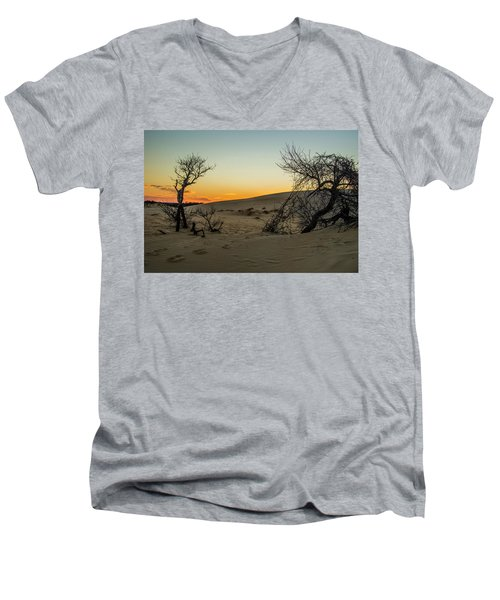 Jockey's Ridge View Men's V-Neck T-Shirt