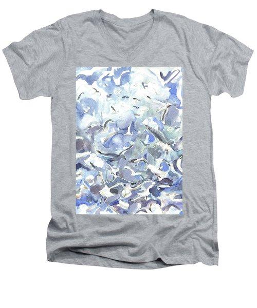 Jodrey Pier Men's V-Neck T-Shirt