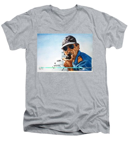 Joe Johnson Men's V-Neck T-Shirt