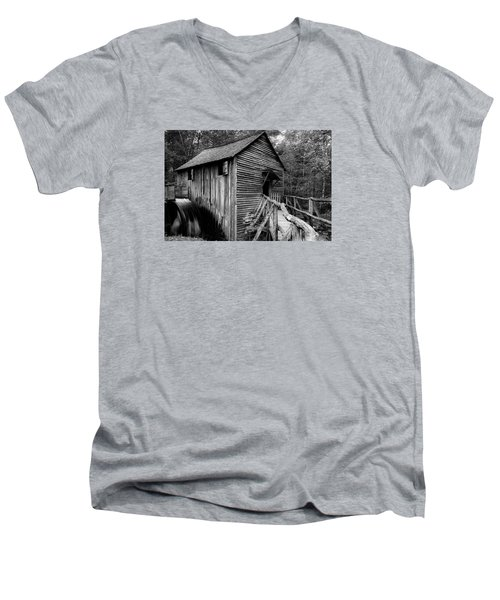 John Cable Grist Mill I Men's V-Neck T-Shirt