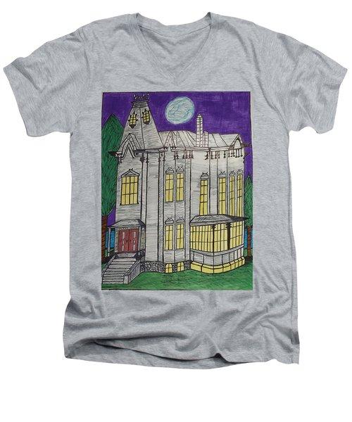 John Henes Home. Men's V-Neck T-Shirt