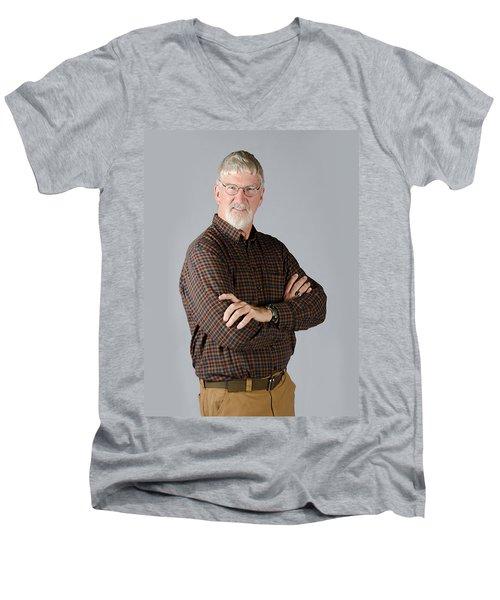 John Men's V-Neck T-Shirt