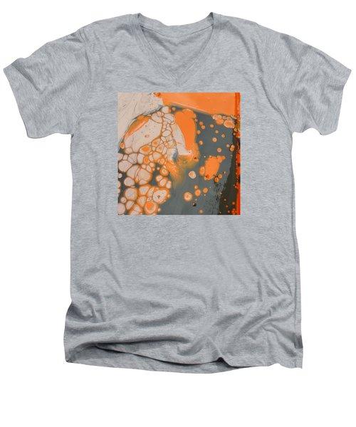 Johnny Pepper Crowding Over Hyppo Men's V-Neck T-Shirt by Gyula Julian Lovas